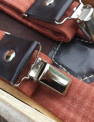 Дизайнерские подтяжки для брюк с галстуком-бабочкой