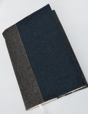 Обложка для книги из твида