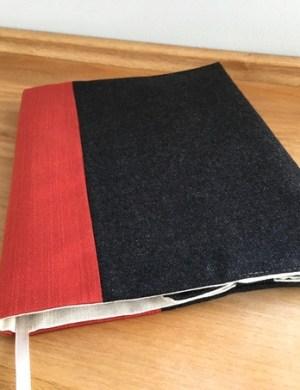 Обложка для книги и ежедневника из твида