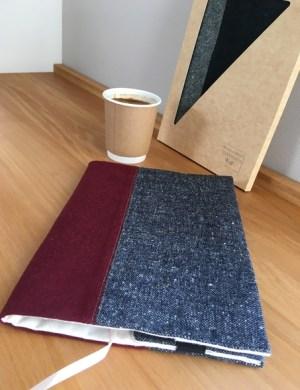 Набор из обложки для книги и ежедневника и обложки на паспорт