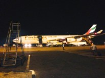 Lusaka - love boarding a plane in free air and not through some kind of wanna-be spacelike tunnel:)