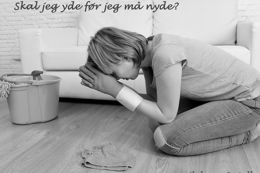 Skal jeg yde for at kunnenyde? - Vibeke Ungstrup, Hillerød, Helsinge, Nordsjællandrdsjælland