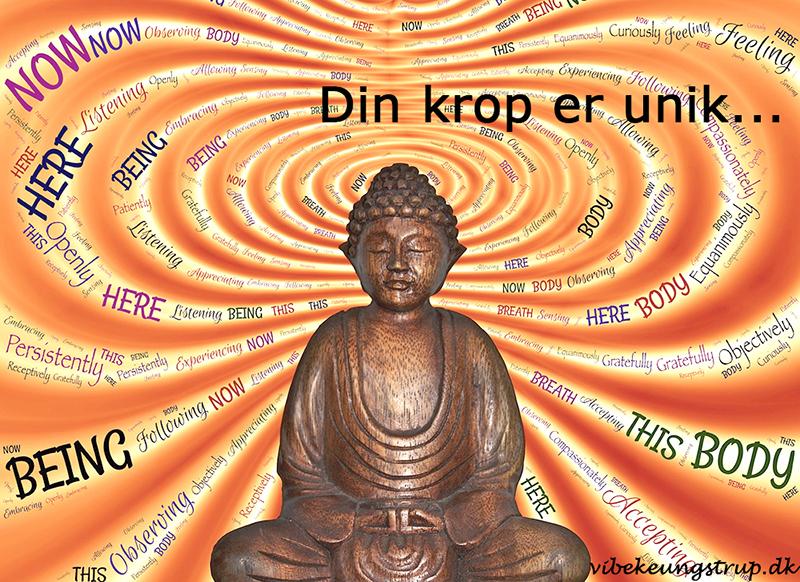 Din krop en unik, Vibeke Ungstrup, Hillerød, Helsinge, Nordsjælland