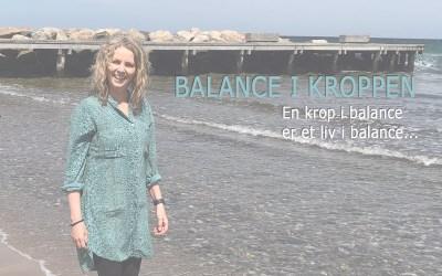 Balance i kroppen