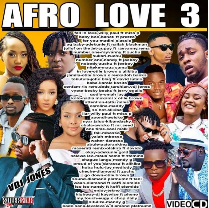 VDJ Jones – AFRO LOVE MIX VOL 3