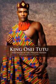 AFRICAN KINGS SERIES   King or Asantehene (King of all Asante) Osei Tutu (circa 1650-1717) Osei Tutu was the founder and first ruler of the Asante nation, a great West African kingdom now known as Ghana. He tripled the geographic size of Asante and the kingdom was a significant power that endured for two centuries. Model: Kellen Marcus   Photographer & Stylist: James C. Lewis   Wardrobe & Accessories: Maye For Maryse Fashions and Accessories *All rights reserved*