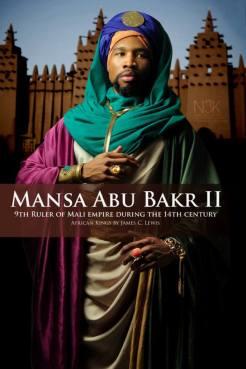 AFRICAN KING SERIES   Mansa Abu Bakr II ( aussi connu comme Mansa Abu Bakari II au environ du 14eme siècle ) était the neuvième Mansa ( Titre de souverain au Mali ) de l'Empire malienne le plus riche et large empire sur terre en ce moment, recouvrant presque tout l'Afrique de l'ouest. Il succède son neveu Mansa Mohammed Ibn Gao et précède Mansa Musa.Abu Bakr II semble avoir son trone (1311) dans l'intention d'explorer '' la limite de l'océan '' et a dit avoir mis cet exploit su pieds dans les années 181 avant Christophe Colomb.N'importe comment , son expédition n'est jamais retourne .Il est maintenant connu sous le nom du '' ROI VOYAGEUR ''   Model: Zaq Jackson   stylist & photographer: James C. Lewis