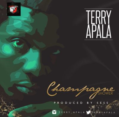 "Terry Apala ""CHAMPAGNE SHOWER"""