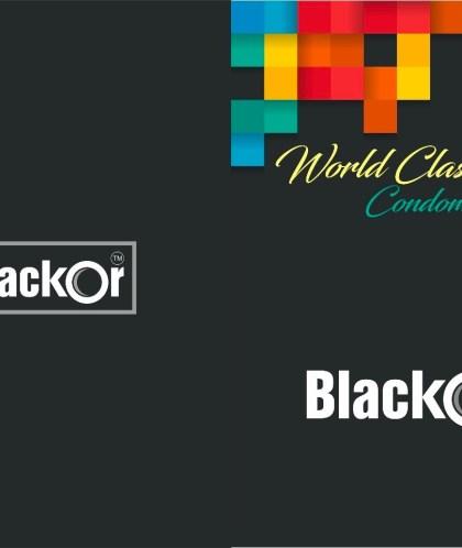 BlackOr Premium Dotted Flavoured Condoms