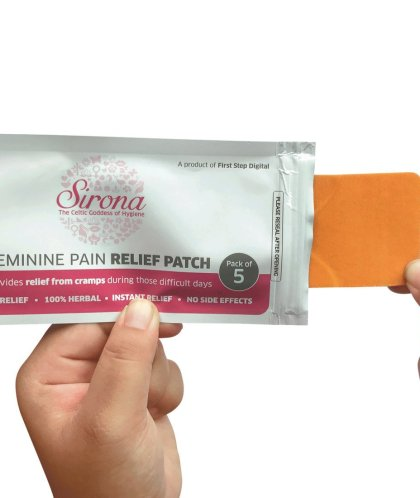 Period Pain Relief Patches – Herbal Ingredient   No Side Effect   5 Patches