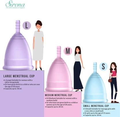 Menstrual Cup | Size Small (18ml)