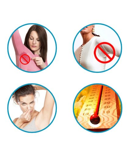 Sirona Underarm Sweat Pads – Avoid Stains and Odour