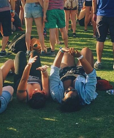 Chilling at Coachella