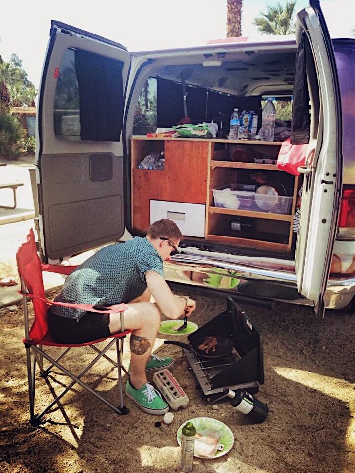 Escape Campervan at Coachella