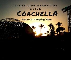 Coachella Car Camping Silent Disco Dome