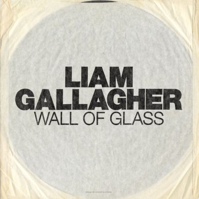 Liam Gallagher Wall of glass Cover