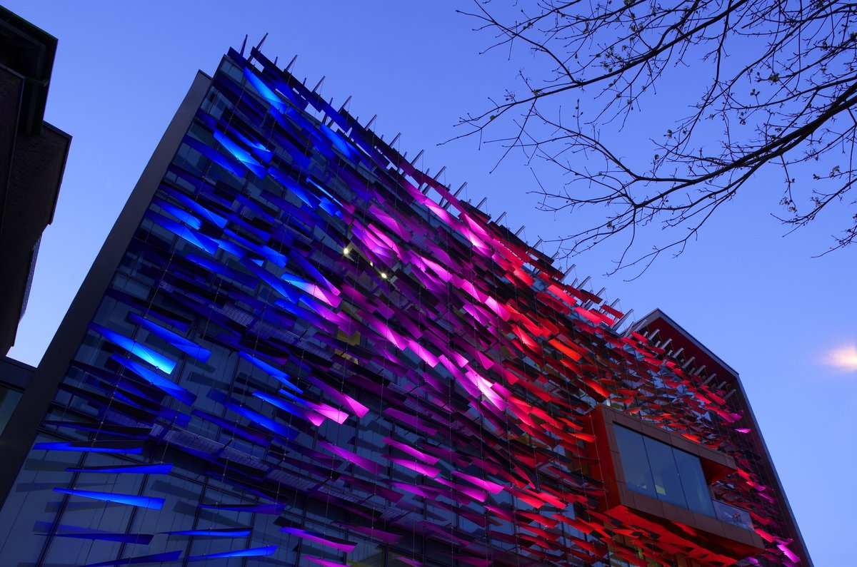 Carl stahl architectural lighting facade