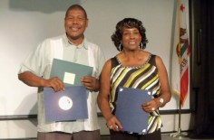 Lighthouse Live! personalities Gardol Wilson and his mother Ruby Kennedy