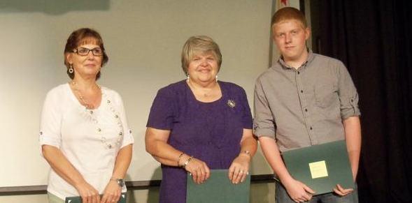 AVC Pioneers Pam Dumas, Lori Douglass, Joshua Douglass