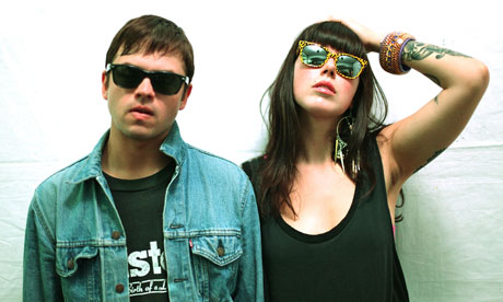 Sleigh Bells being cool.