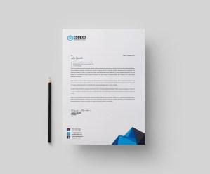 Atlas Modern Corporate Letterhead Template