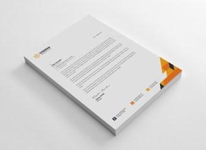 Clean Letterhead Designs