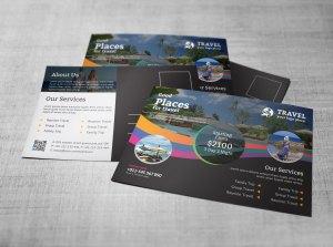 Travel Postcard Design