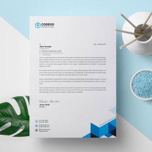 Sleek Letterhead Design