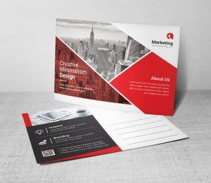 PSD Business Postcard Templates