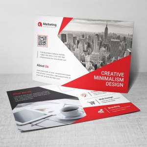 PSD Corporate Postcards
