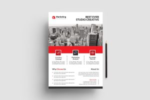 Professional PSD Flyer Poster