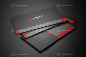 PSD Dark Business Cards