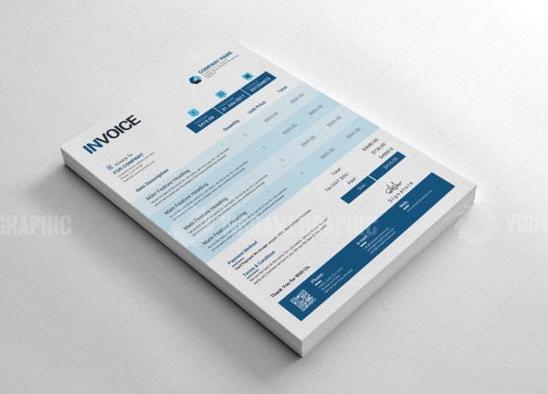 Printable Invoice Template