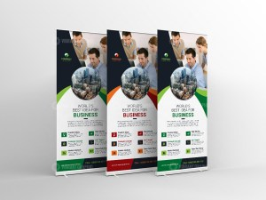 Roll-Up Banner Design