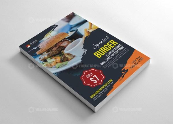 Fast Food Flyer Design