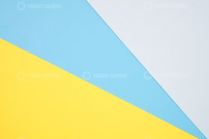 Paper yellow blue empty background