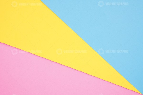 Pink, Yellow and blue geometric background