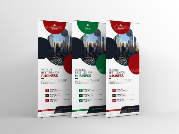Professional RollUp Banner Template