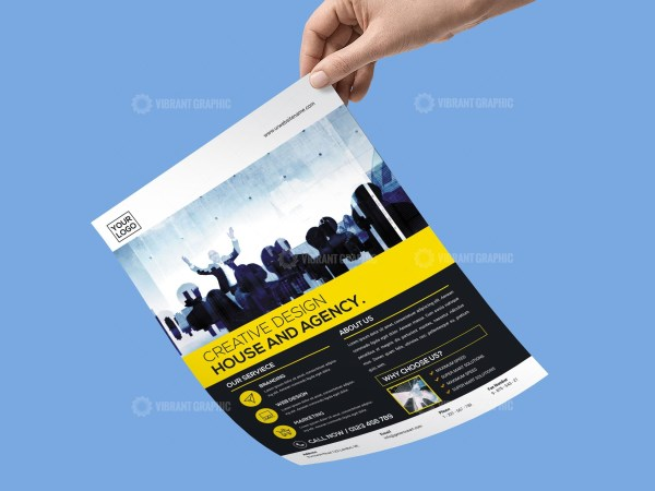 First Class Business Flyer Template