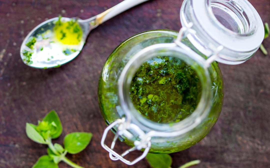 Spring Parsley Pesto