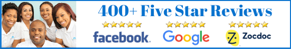 400+ five star reviews