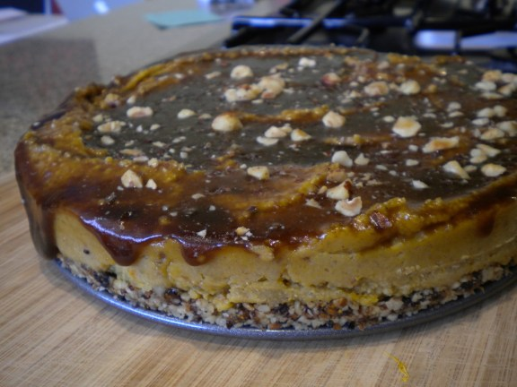 Raw-Inspired Pumpkin Cheesecake!