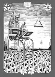 "Giclee print on Velvet rag paper. - Edition of 20. - Image size: 19"" x 27"" - 2014"