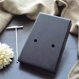 Kalimba 17 Mahogany Classical Black 07
