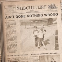 Review: SUBCULTURE - Ain´t Done Nothing Wrong EP