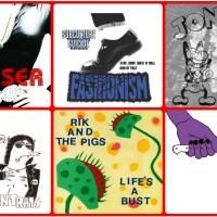 Singles Going Steady: RPM # 1 - CRUISER / FASHIONISM / JONESY / TENEMENT RATS / RIK & THE PIGS / TRASH KNIFE