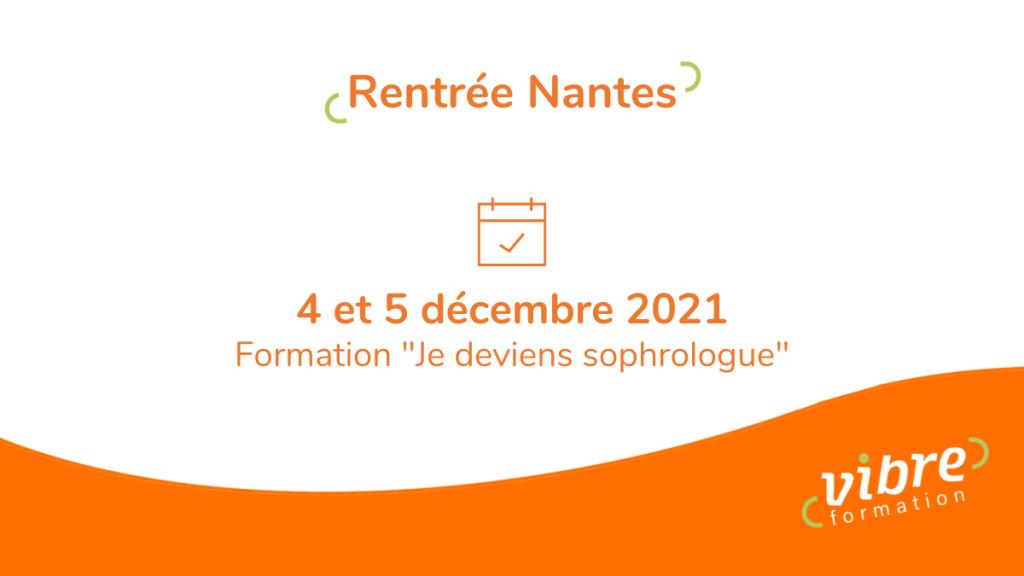 rentrée Nantes