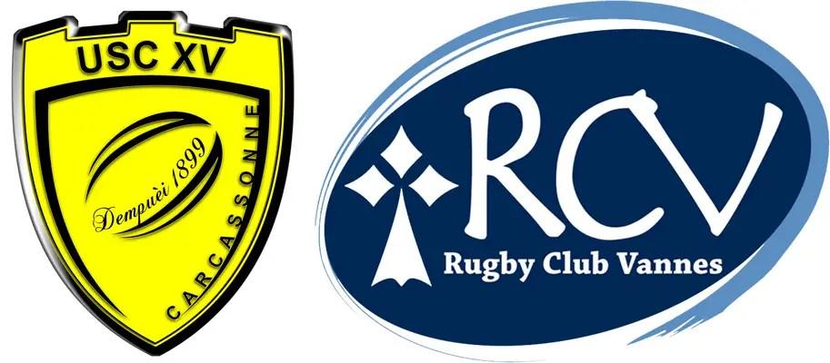 Rugby-ProD2 : Carcassonne/Vannes, les compositions (J18)