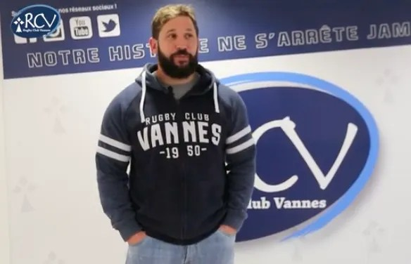 Rugby Pro D2: Kévin Burgaud prolonge au RC VANNES.