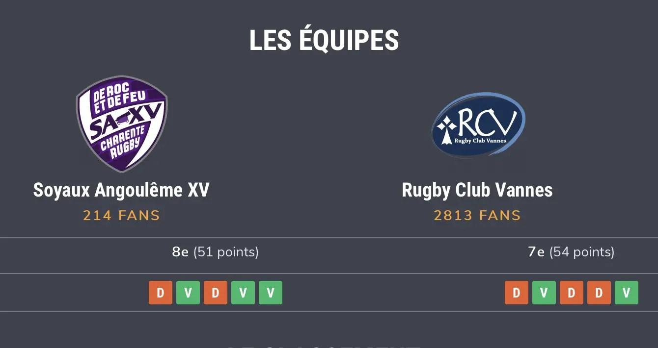 RC Vannes ( COVID-19 ) : le club demande à ses supporters de ne pas se déplacer à Soyaux Angoulême .